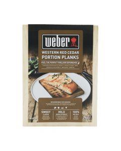 Weber Cederhouten Portie Rookplankjes