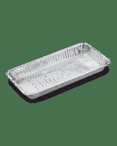 Weber Aluminium Lekbakjes - Lang (5 stuks)
